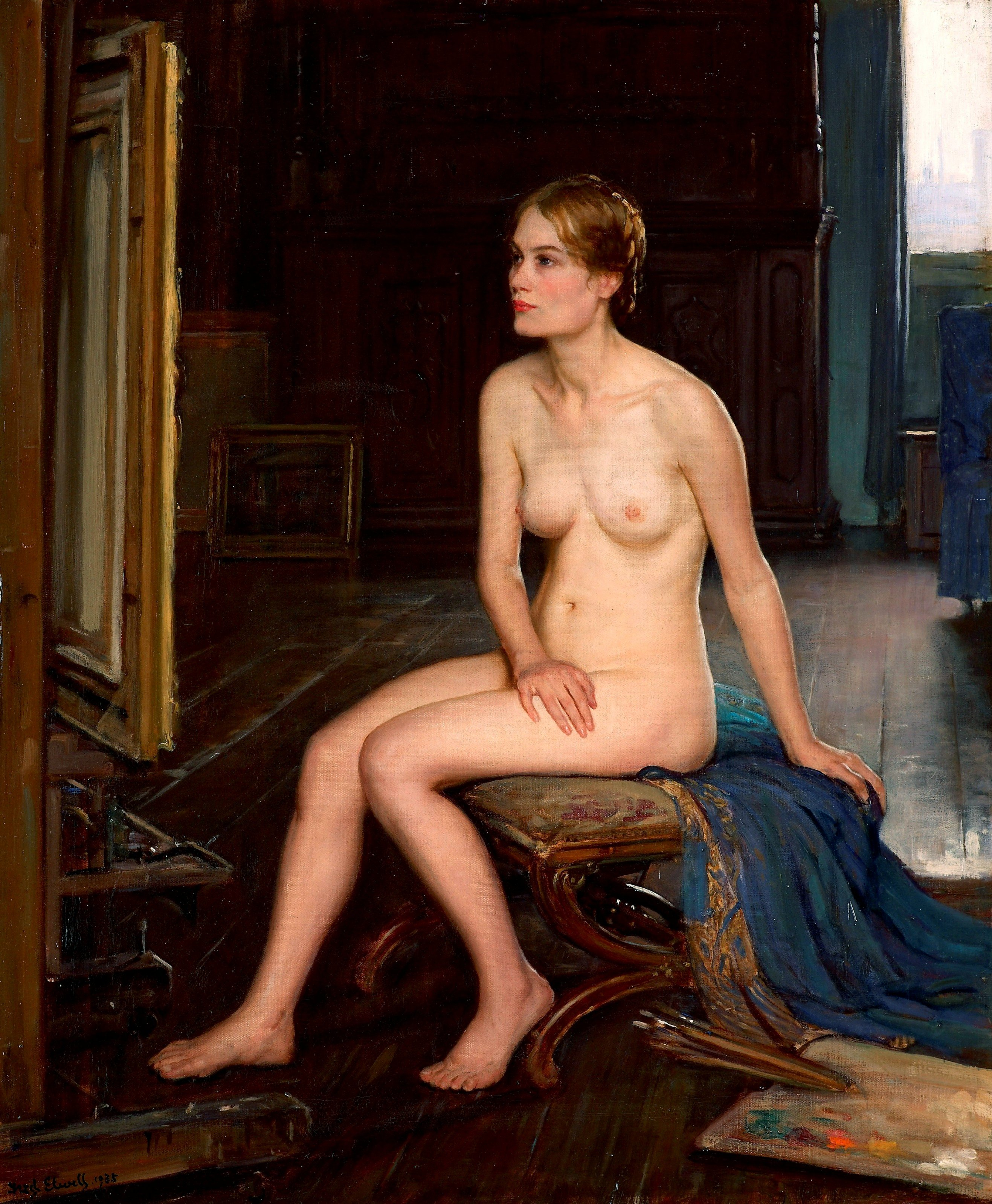 Judith Richter Nude fred elwell – my daily art display
