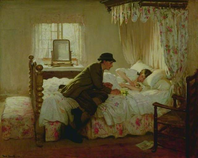 The First Born by Fred Elwell (1913)