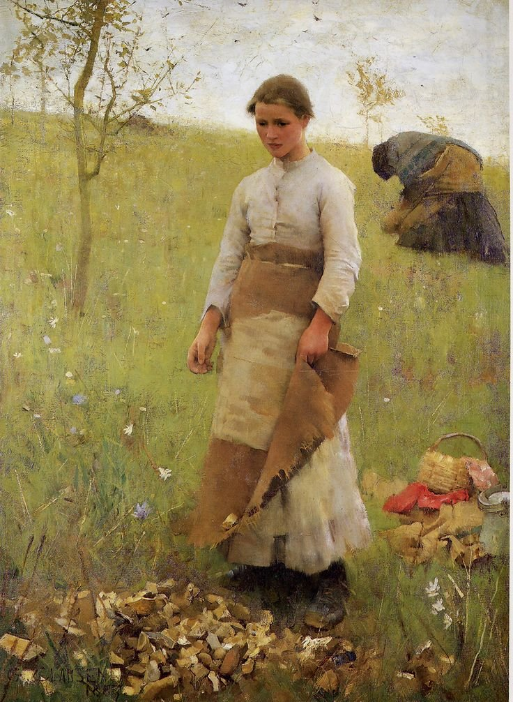 The Stone Pickers by George Clausen (1887)