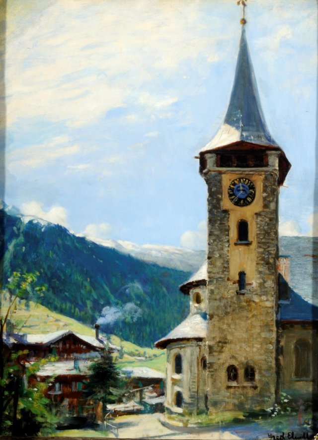 Zermatt by Fred Elwell (c.1938)
