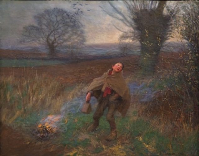 Bird Scaring by George Clausen (1896)