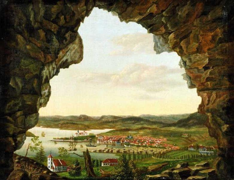 Christiania Viewed from Ekeberg by Peder Balke (c.1829)