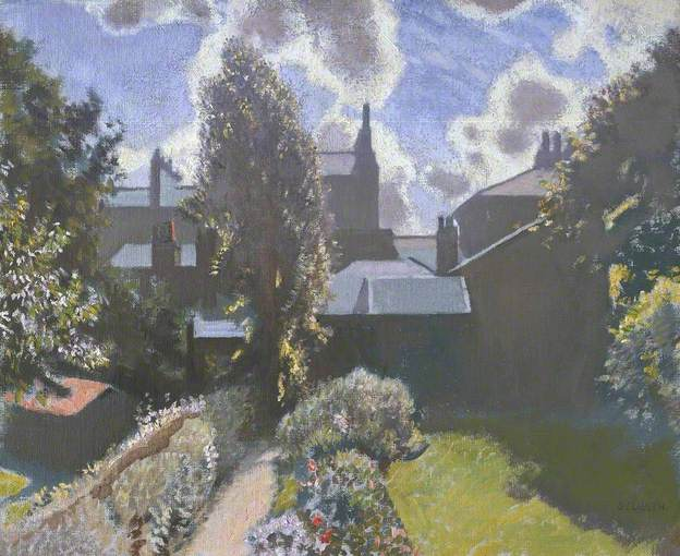 My Back Garden by George Clausen (1940)
