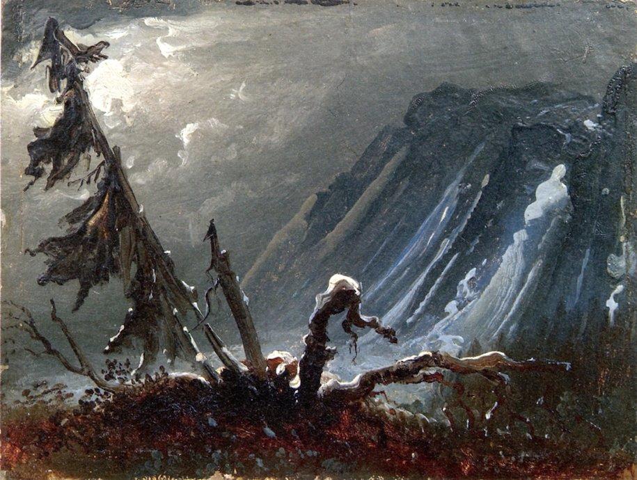 Old Trees by Peder Balke (c.1849)