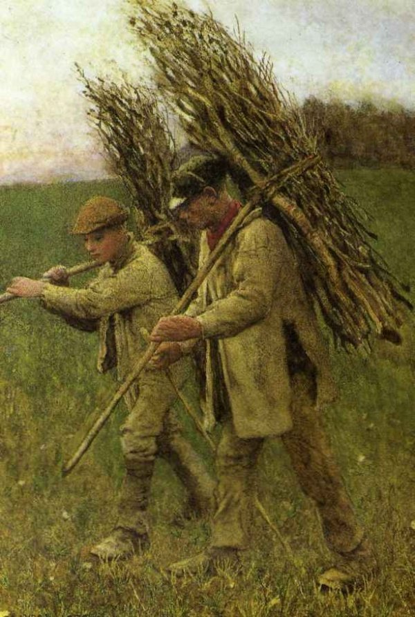 The Return to the Fields by George Clausen (1882)