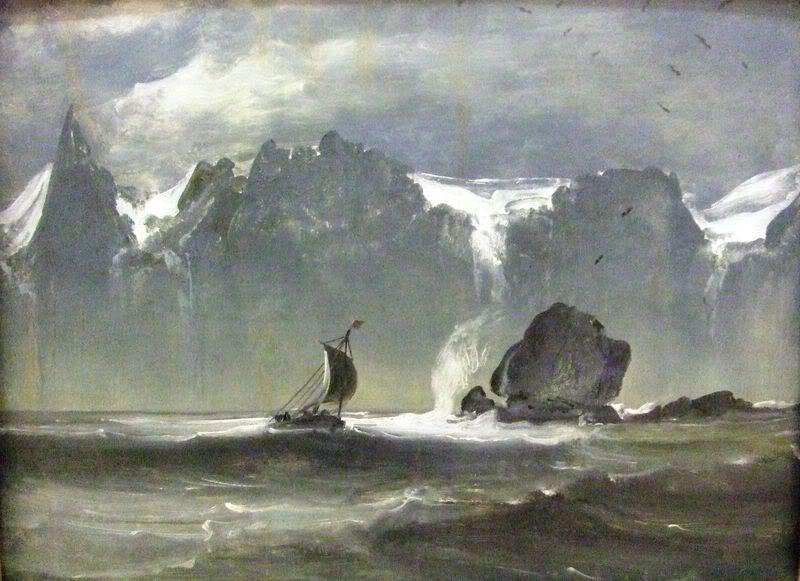 The Severn Sisters by Peder Balke (1847)