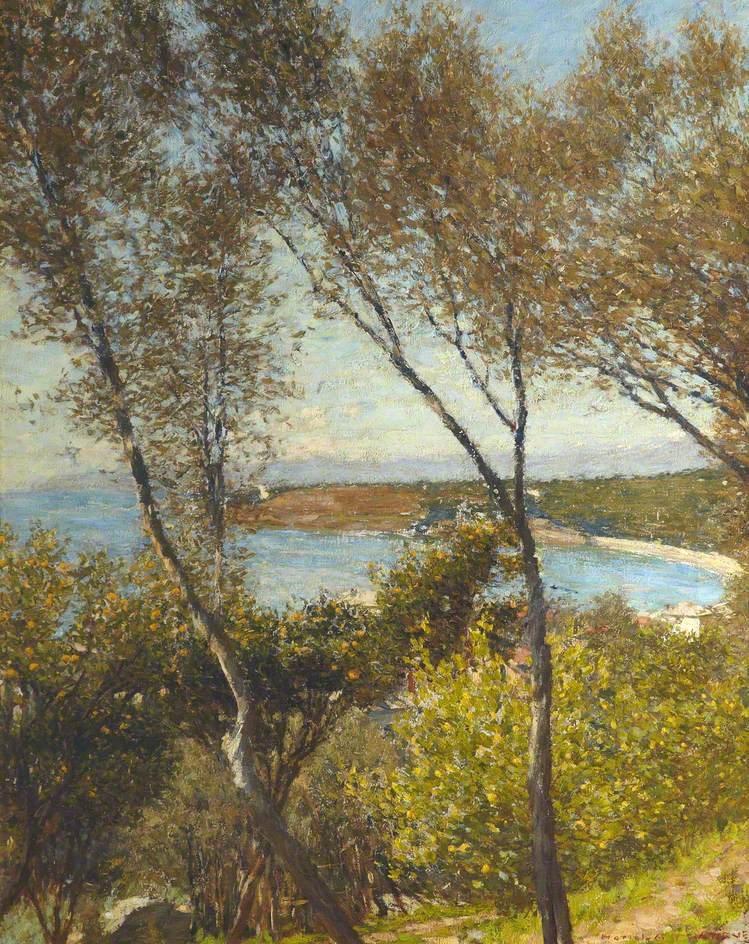 A Ligurian Bay by Henry Herbert La Thangue