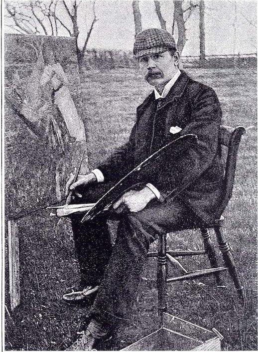 Henry Herbert La Thangue  (photo c.1893)