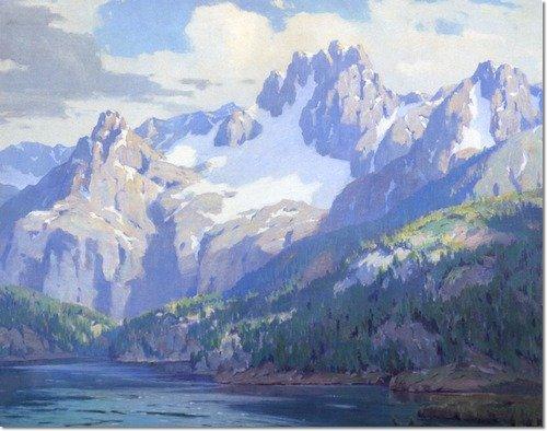 Lake Mary, Sierra Nevada by Marion Kavanagh Wachtel