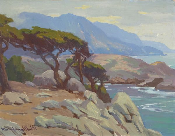 Monterey Coast by Marion Kavanagh Wachtel