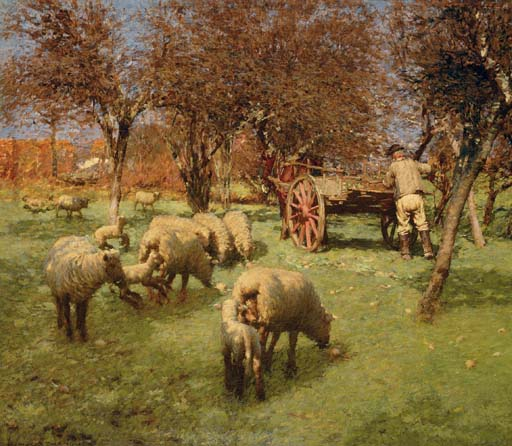 The March Month by Henry Herbert La Thangue