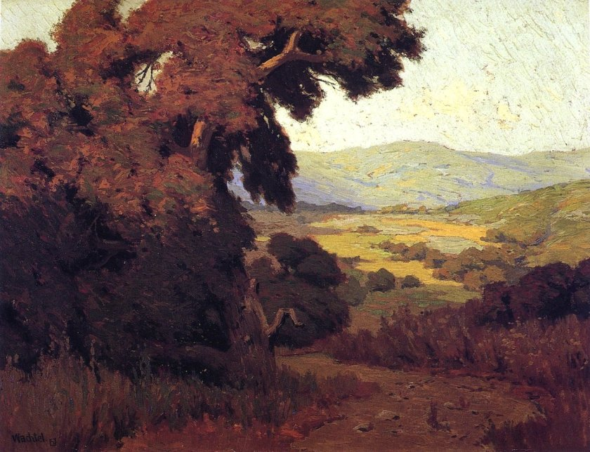 Valley Afternoon by Elmer Wachtel (c.1910)