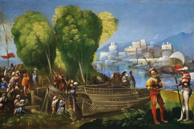 Aeneas and Achates on the Libyan Coast by Dosso Dossi (c.1520)