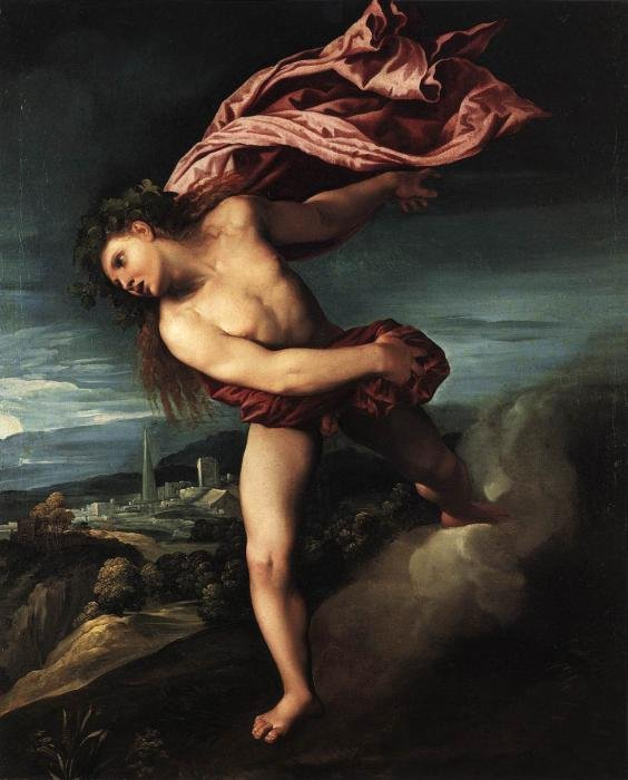 Bacchus by Dosso Dossi (1524)