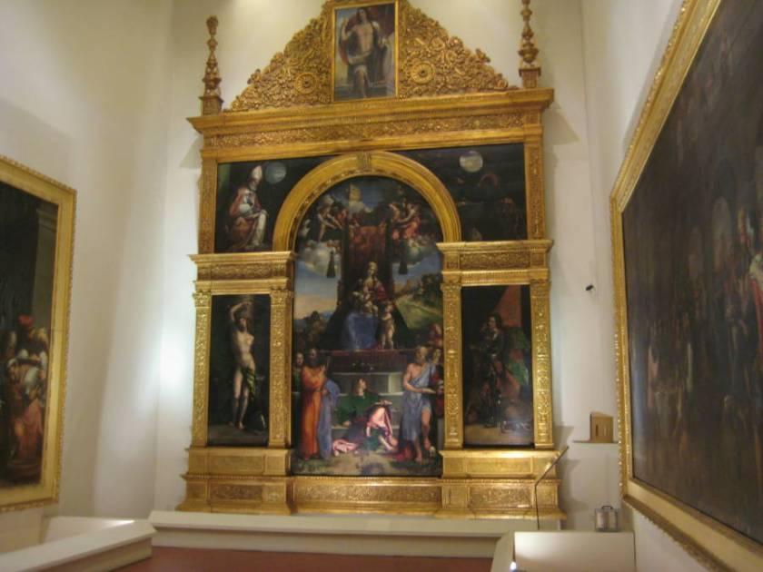Constabili Polyptych in the Pinacoteca Nazionale of Ferrara