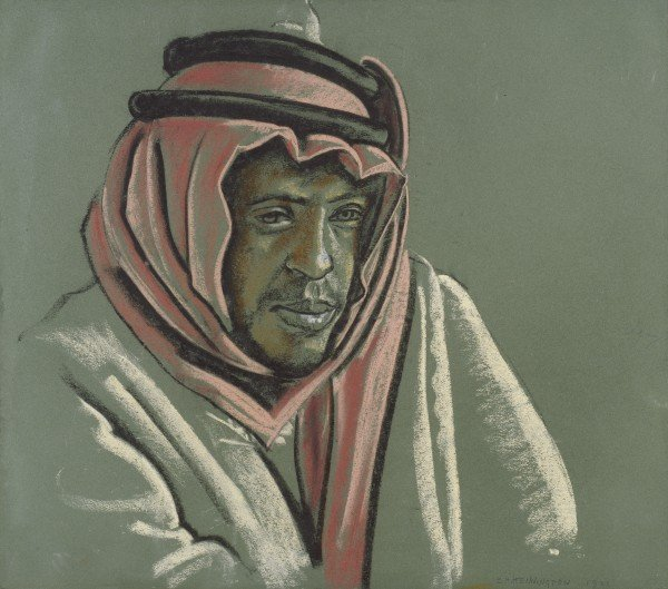 Abd-el Rahman by Eric Kennington (1921)