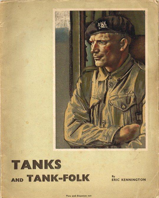 Cover of Eric Kennington's book Tanks and Tank Folk