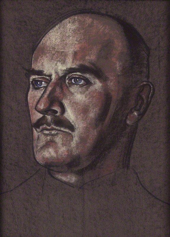Edmund Henry Hynman Allenby, 1st Viscount Allenby by Eric Kennington (1926)