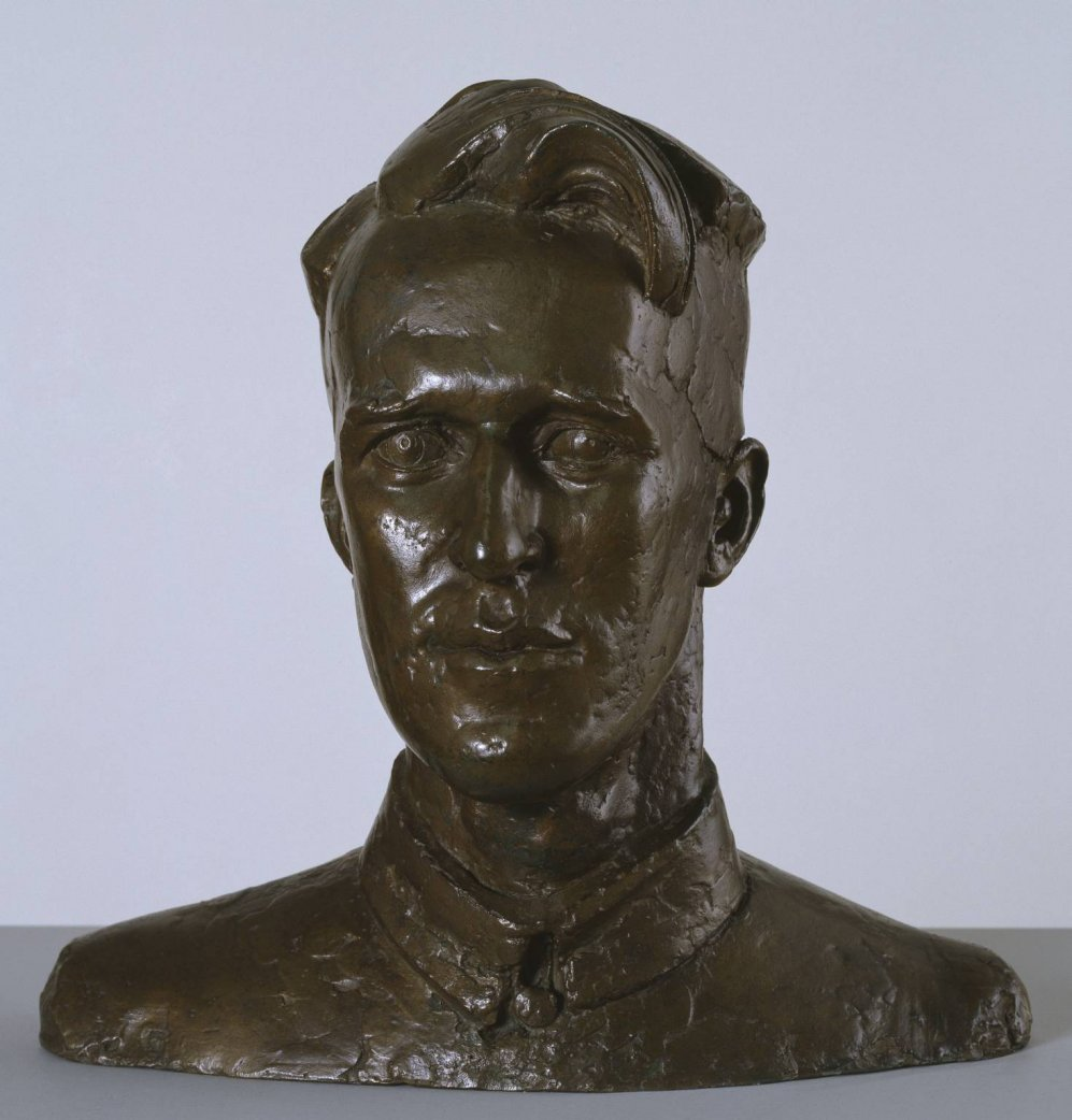 Head of T. E. Lawrence by Eric Kennington (1926)