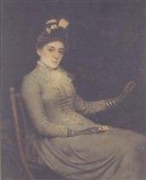 Portrait of Elise Kennington née Stevani