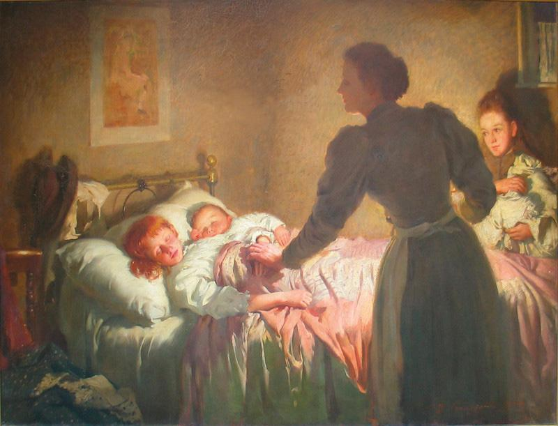 The Mother by Thomas Kennington
