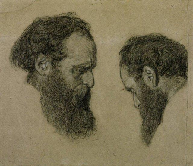 Study for 'Elijah's Sacrifice' by Albert Moore (c.1864)