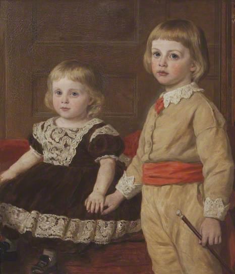 Stephen Langton Massingbird and his sister Mary Langton Massingbird by John Collingham Moore