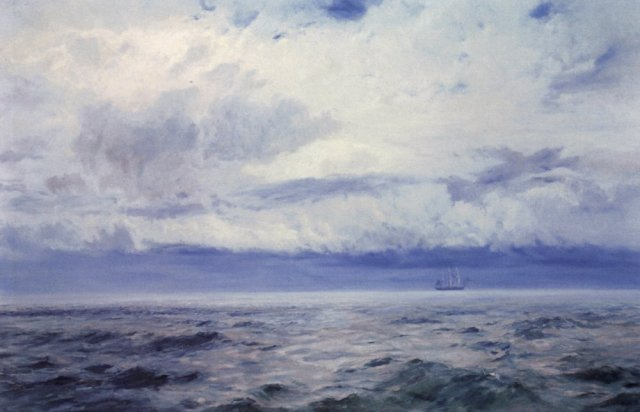 Storm Brewing by Henry Moore