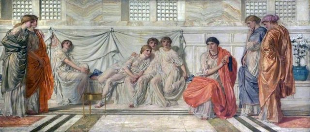 The Shulamite by Albert Moore (c.1865)