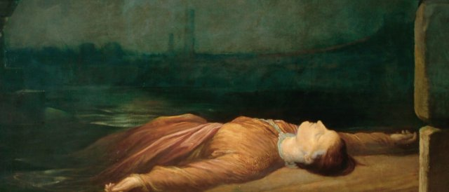 Found Drowned by George Frederic Watts (c.1850)