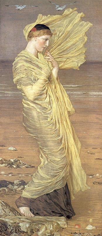 Sea-gulls by Albert Moore (1871)
