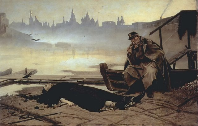 The Drowned Woman by Vasily Perov (1867)