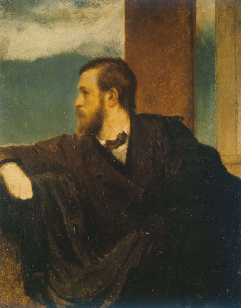 Self Portrait by Arnold Bocklin (1862)