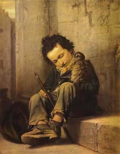 Savoyard by Vasily Perov (1863)