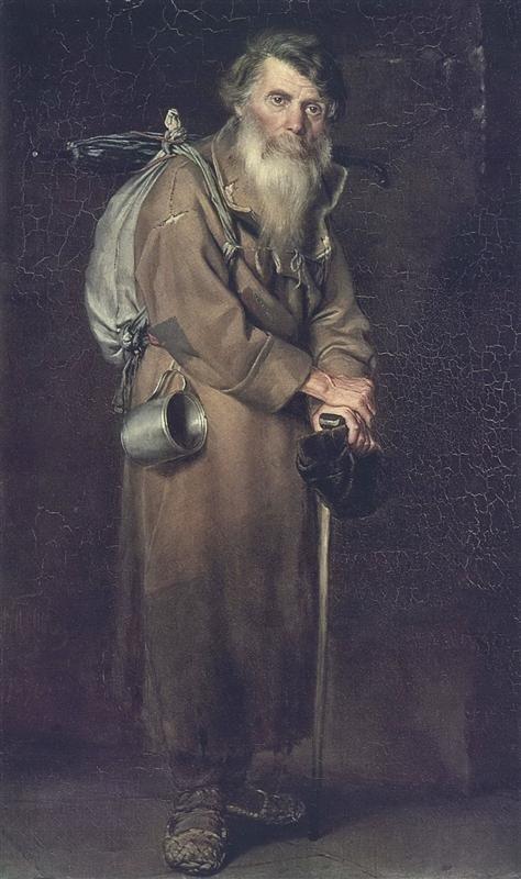 Wanderer by Vasily Perov (1870)