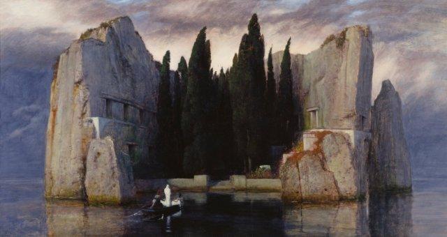 Isle of the Dead (Alte Nationalgalerie, Berlin. Third version) by Arnold Böcklin (1883)