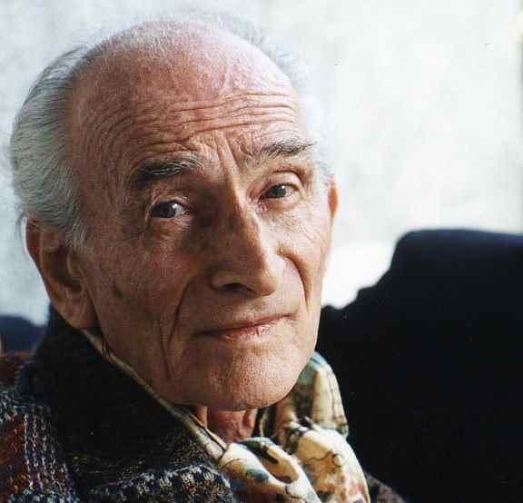 Balthus aged 88