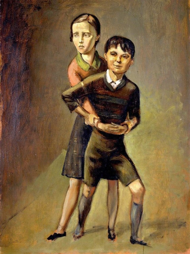 Brother and Sister by Balthus (1936)
