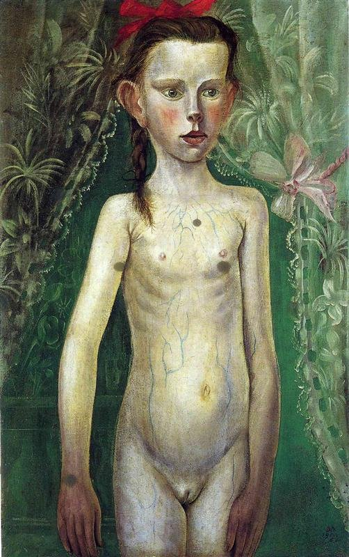 Little Girl by Otto Dix