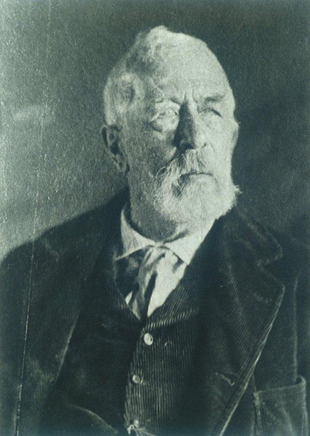Photo of Arnold Böcklin (1900) aged 73