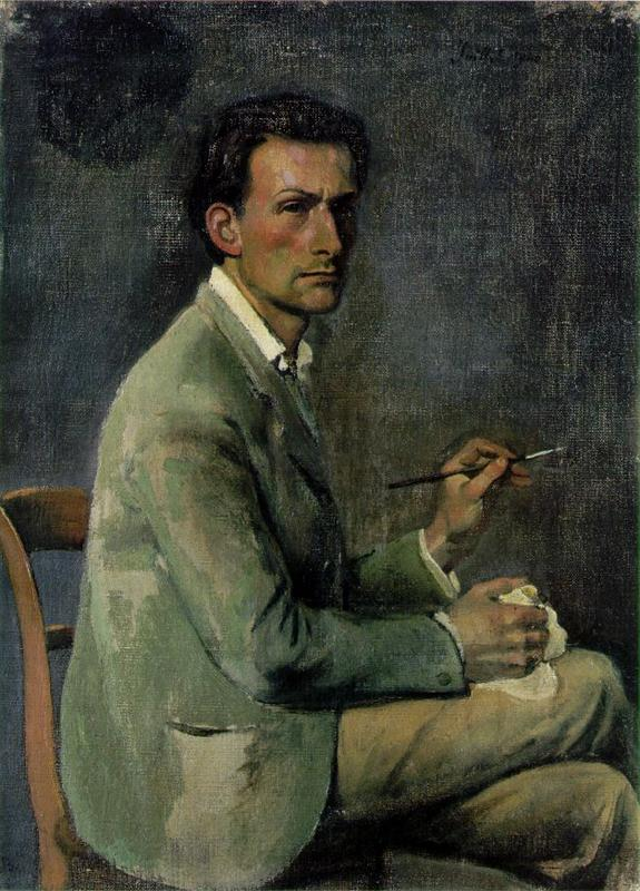 Self Portrait by Balthus (1940)