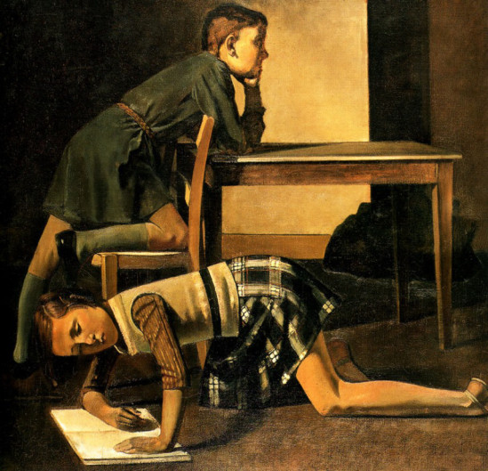 The Blanchard children by Balthus (1937)