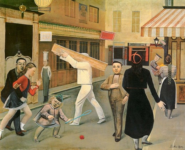 The Street by Balthus (1933)