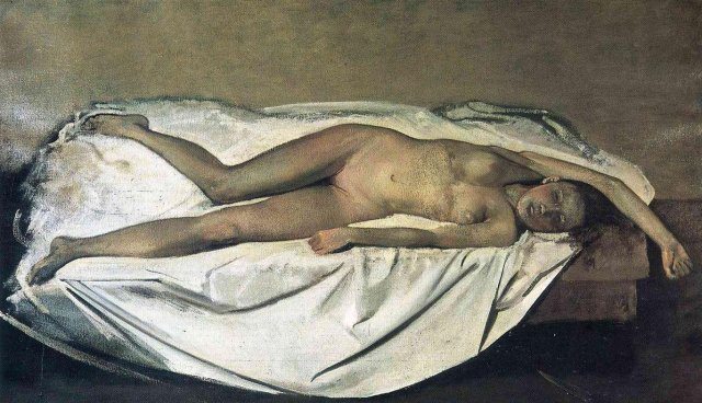 The Victim by Balthus (1939 - 1946)