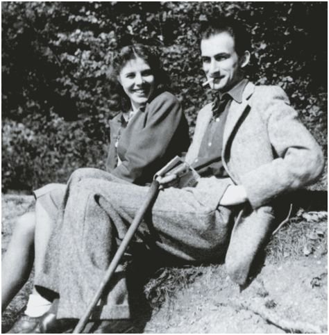 Antoinette de Watteville and Balthus (1935)