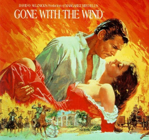 Gone with the Wind film poster by Howard Terpning