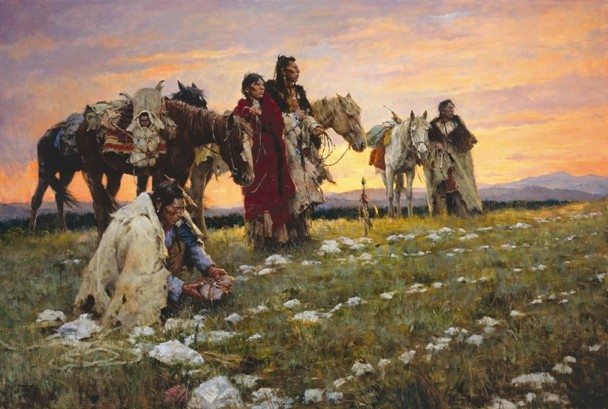 Journey to the Medicine Wheel, by Howard Terpning