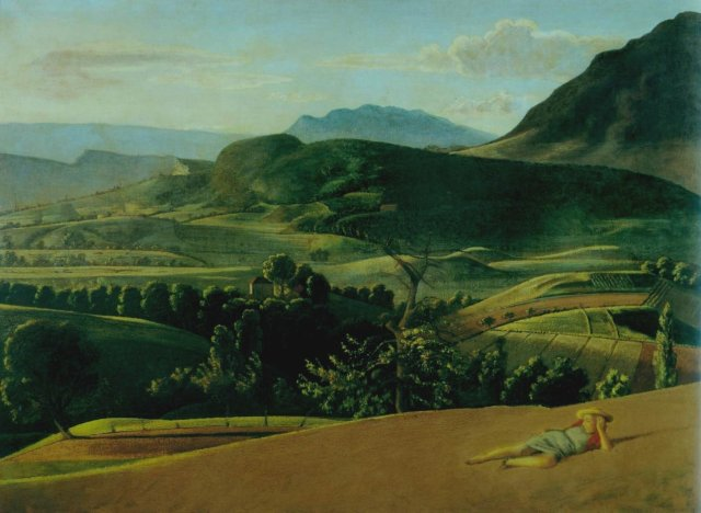 Paysage de Champrovent by Balthus (1942-1945)