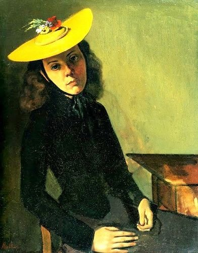 The Bernese Hat by Balthus (1938)