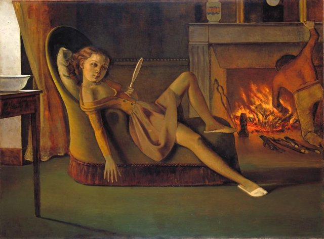 The Golden Days by Balthus (1944-46)